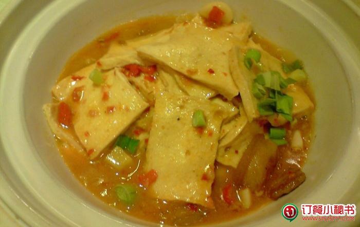 砂锅千叶豆腐,毛家湾 砂锅千叶豆腐价格 订餐小秘书