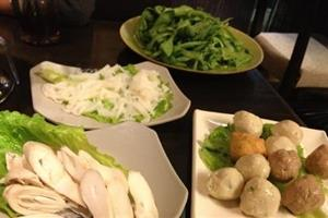 桃花园猪肝海鲜特色火锅瘦肉|菜谱图片_桃花园价格菜单粥的肥牛图片