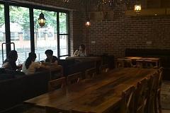 上海植物园 咖啡上的猫耳朵餐厅