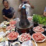 城市港湾酒店老北京涮肉坊 炭火铜锅