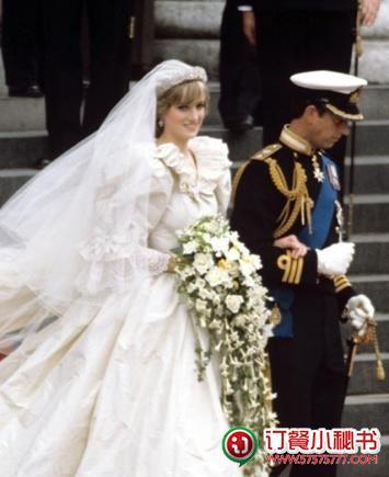 人们津津乐道戴安娜王妃的那场世纪婚礼,却