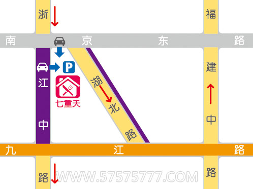 上海地铁二号线地图