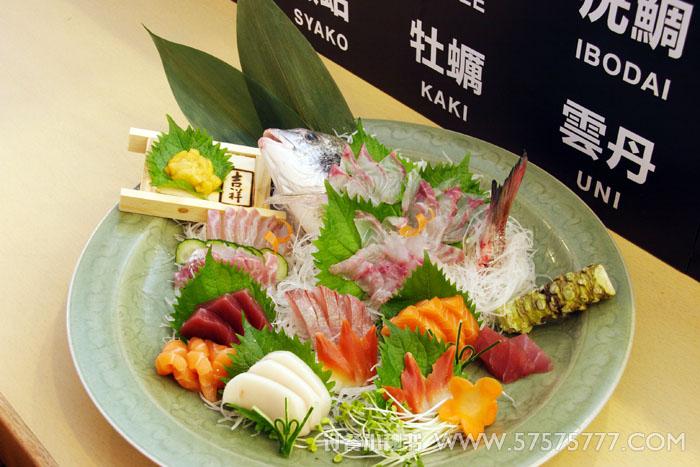 海鲜自助餐 综合自助餐 吉祥日本料理 818广场店 菜品 刺身拼盘