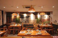 浦电路站 渝香情绿色怀旧餐厅
