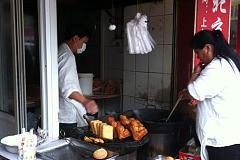 老北京人烤鸭
