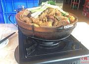 皇潮●鲍汁海鲜鸡煲