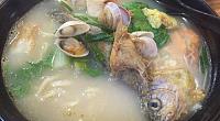 温州海鲜面 图片