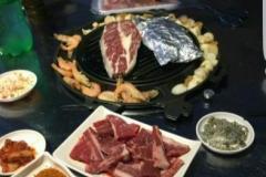 川沙站 韩国碳烤
