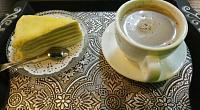 猫山王榴莲蛋糕甜品 图片