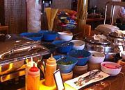 千岛湖滨江希尔顿度假酒店BBQ自助餐