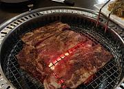 炭火烧烤肉