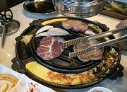 烤肉烤了木炭烤肉