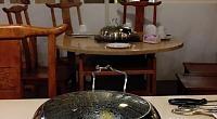 蒸新鲜蒸汽海鲜料理 图片