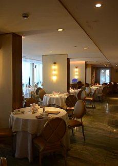 欧式风格为主的粤菜馆