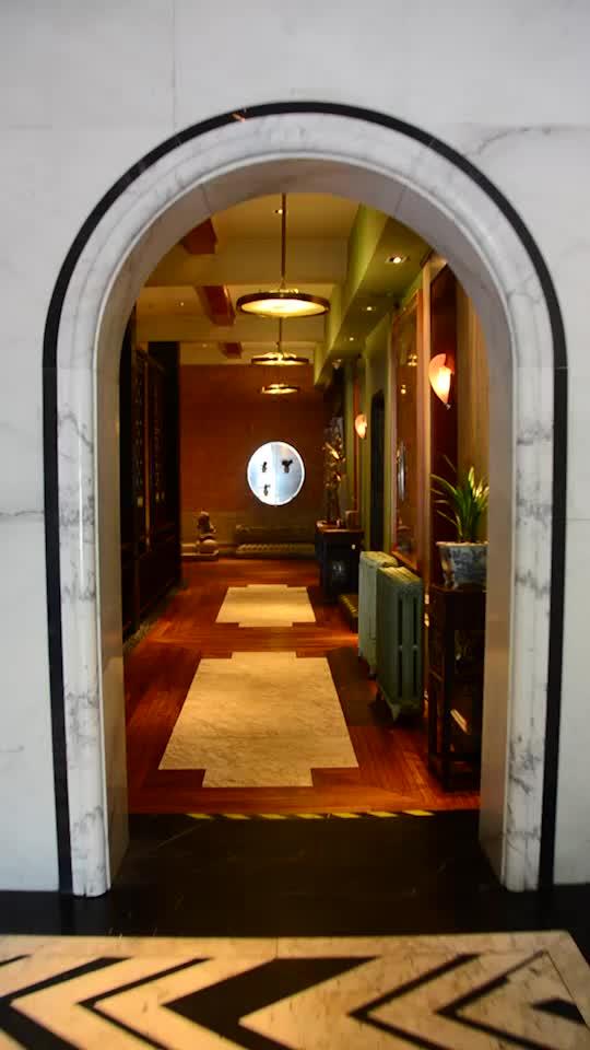 頗具老上海特色的文化餐廳