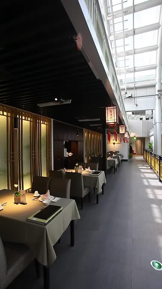 蟹宴就该是这样的高雅环境