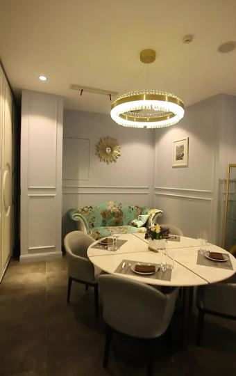 法式复古网红餐厅,精致的细节展现