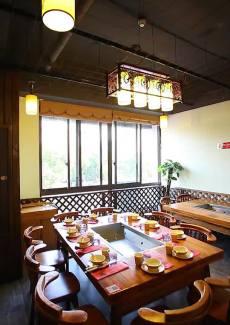 环境优雅的中国风餐厅