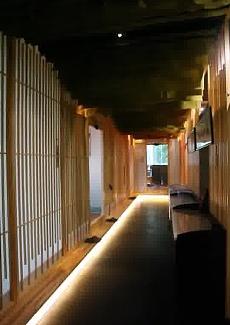 以竹为墙,清新自然