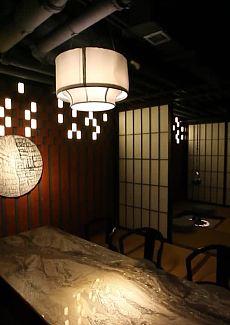 唯美日式风与时尚现代感相结合的装修风格