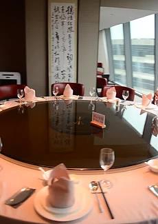 坐落在虹桥商务中心的宴请餐厅