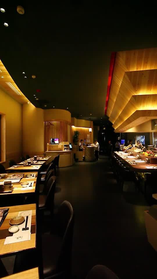 国金4楼的日料餐厅 日本知名设计师操刀设计