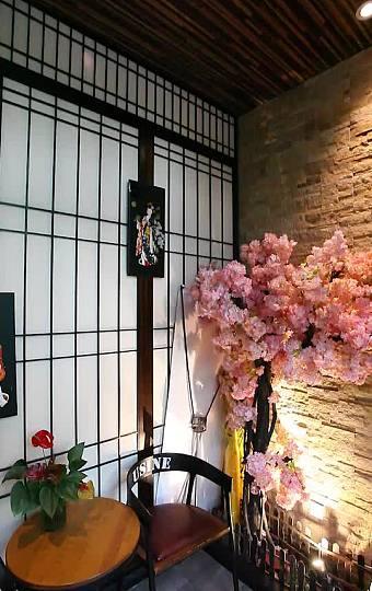 浪漫櫻花,日式墻掛,假裝自己在日本!