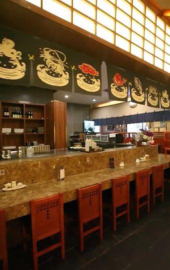 大廳是濃郁的日式風情