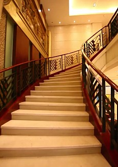 气派的楼梯转角