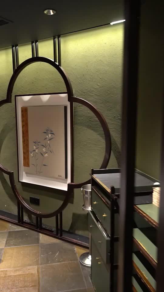 古色古香的川味火锅餐厅
