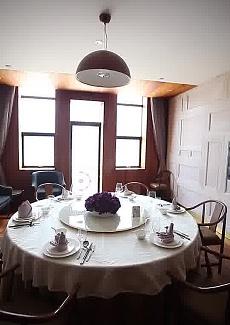 全包房制餐厅,很适合宴请贵宾。