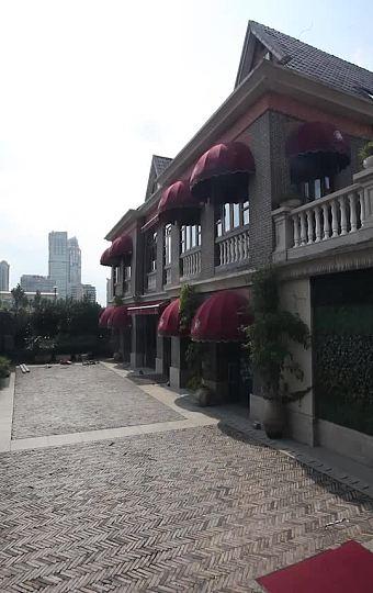 黄浦江东岸有名的独栋老洋房