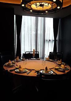 高端隐私的用餐环境