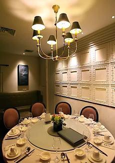 一家精致的粤式餐厅