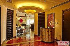 上海浦东绿地假日酒店 国风中打鱼打钱