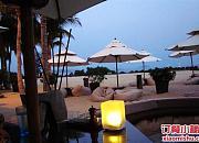 金茂三亚丽思卡尔顿酒店 海边餐厅
